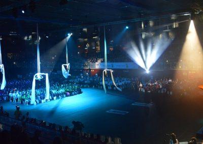 Inauguración de los Juegos Special Olympics, 2014