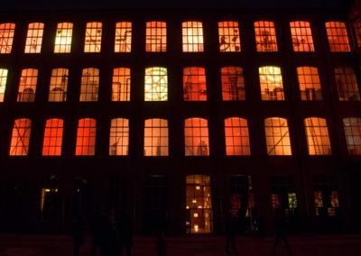 Factoria i magatzem dels Reis Mags a Fabra i Coats 2013-2014