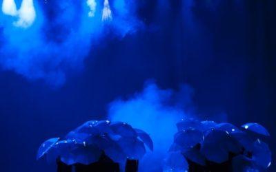 Máquina de humo para iluminación