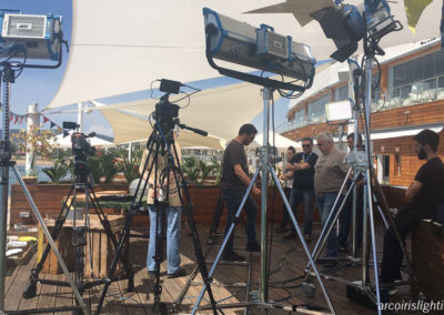 "Exterior del programa ""Cuines"" en La Daurada Beach Club & Restaurant, 2017"