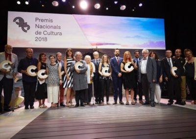Premios Nacionales de Cultura 2018