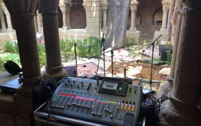 Colaboración de sonido e iluminación de la fiesta WooMooncon Sintonizart