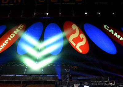 Celebración Liga 2012/13 en el Camp Nou