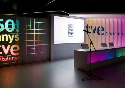 Carpa itinerante 50 TVE Catalunya, 2009