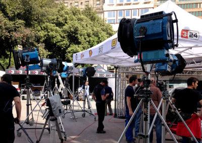 """Exteriores programa """"Divendres"""" de TV3"""