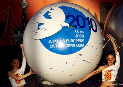 """Inauguración """"XX Jocs Juvenils Europeus"""", 2010"""