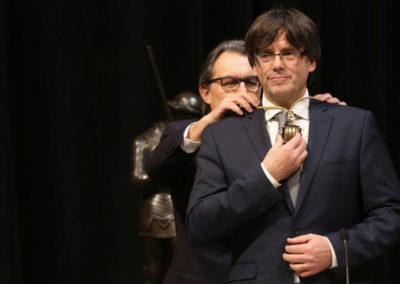 Acto de toma de posesión del nuevo Presidente y el nuevo Gobierno de la Generalitat 2016