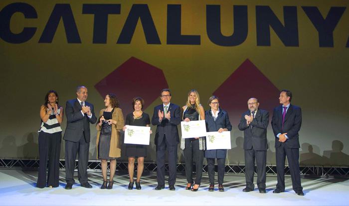 Entrega de los Premios del Turismo de Catalunya 2014