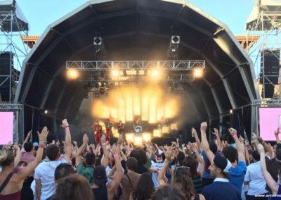 Deluxe en ''El Festival'', 2016