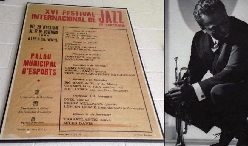 Recordamos el paso de Miles Davis por Barcelona
