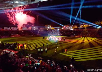 El Girona F.C. celebra l'ascens a primera, 2017