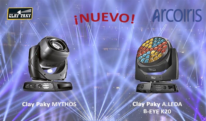 Nuevos proyectores de iluminación en Arcoiris