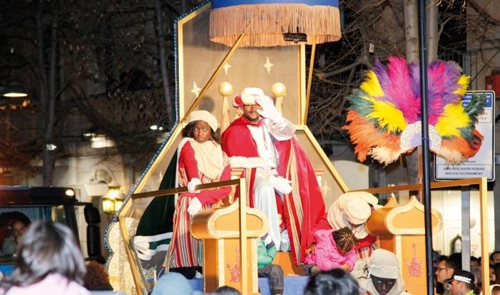 Cabalgata de Reyes en Mataró 2016