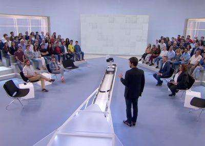 Arcoiris como empresa de iluminación para Preguntes Freqüents de TV3