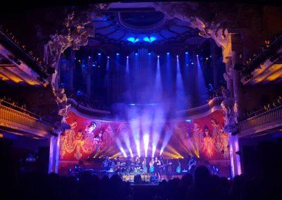 Iluminación en el concierto de Maria Rozalén
