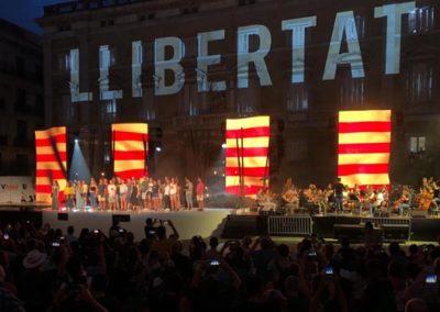 """""""Llibertat"""" Acto institucional de la Diada 2018"""