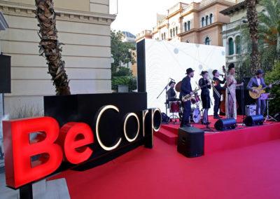 La gran fiesta de presentación de BeCorp